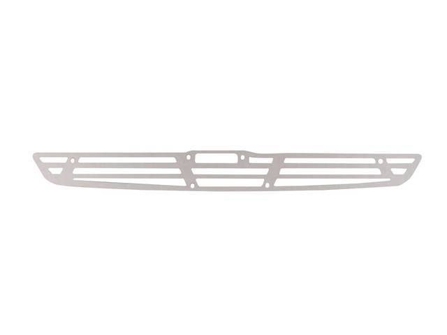 GRILLE, COWL INDUCTION SCOOP, Polished Finish Aluminum, THIS