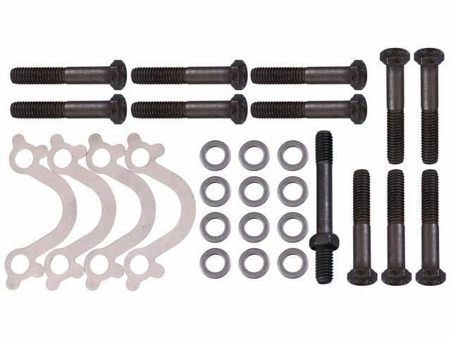 FASTENER KIT, Exhaust Manifolds to Engine Block, (26)