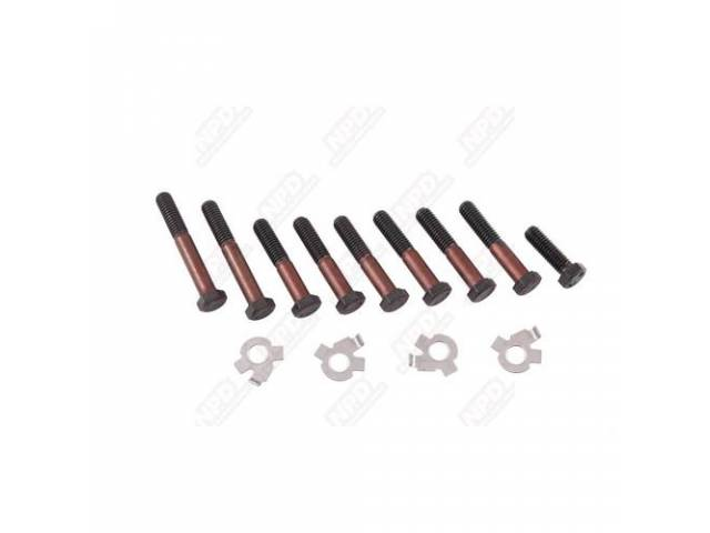 Fastener Kit Exhaust Manifolds D Port 13 Incl