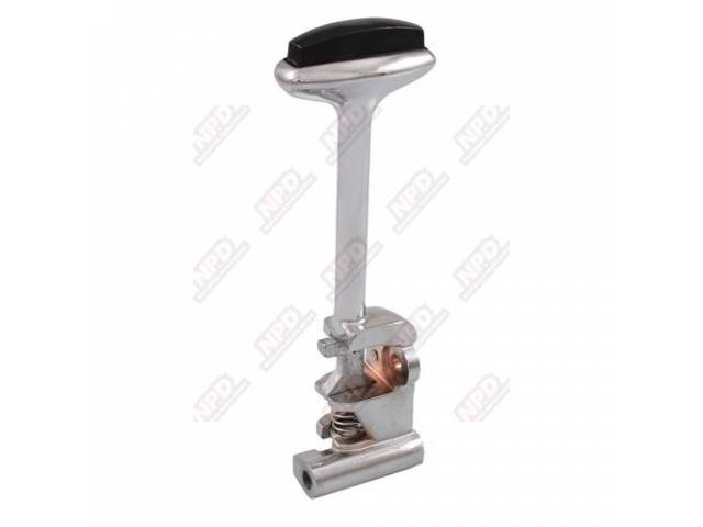 Lever Shifter Powerglide 2-Speed A/T Chrome Incl Black