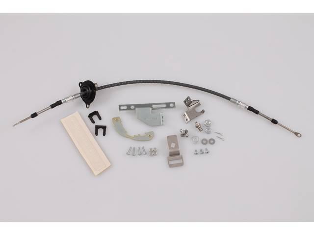 SHIFTER CONVERSION KIT, Powerglide 2SA/T / TH350 or