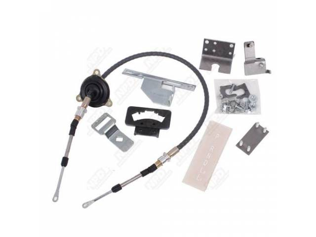 Shifter Conversion Kit Converts 2sa/T To Th350 Or