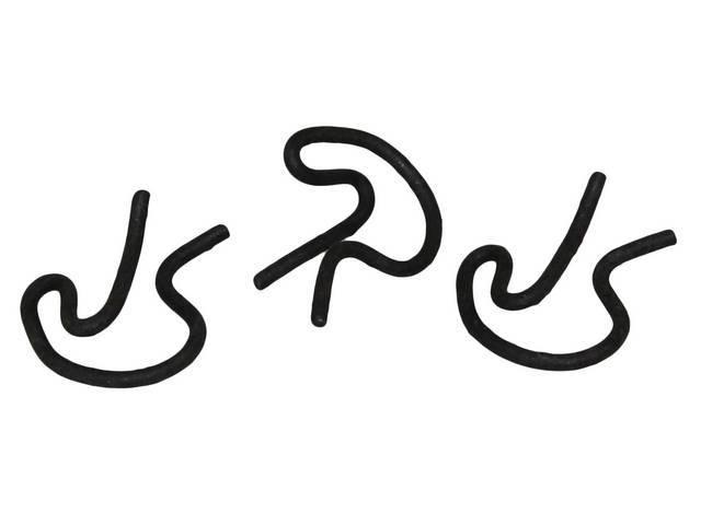 FASTENER KIT, CLUTCH PEDAL PUSH RODS, (3), RETAINING
