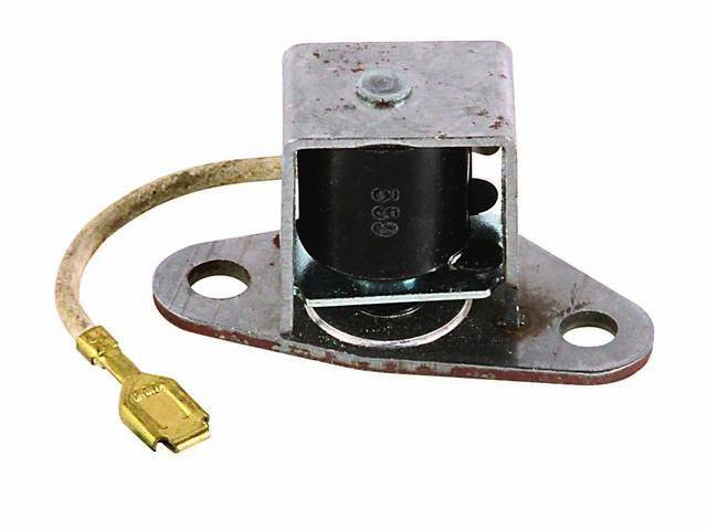 Solenoid Kick Down Mounts / Located Inside Transmission