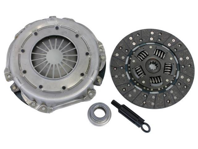 CLUTCH SET, New Premium, 10.4 Inch X 1 1/8 Inch-10, RAM, INCL PRESSURE PLATE, DISC THROW OUT BEARING, AND ALIGNMENT TOOL