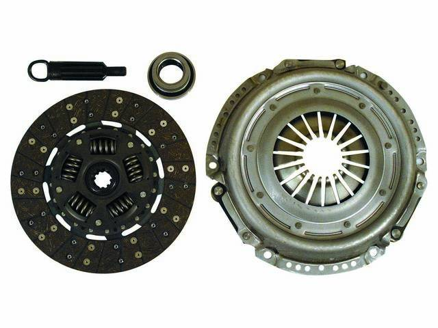 CLUTCH SET, New Premium, 10.5 Inch X 1 1/8 Inch-10, RAM, INCL PRESSURE PLATE, DISC, THROW OUT BEARING, AND ALIGNMENT TOOL