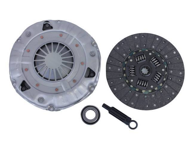 CLUTCH SET, New Premium, 11 Inch X 1 1/8 Inch-10, RAM, INCL PRESSURE PLATE, DISC, THROW OUT BEARING, AND ALIGNMENT TOOL