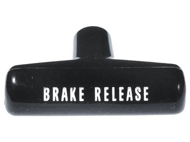 HANDLE, PARK BRAKE RELEASE, GM Original