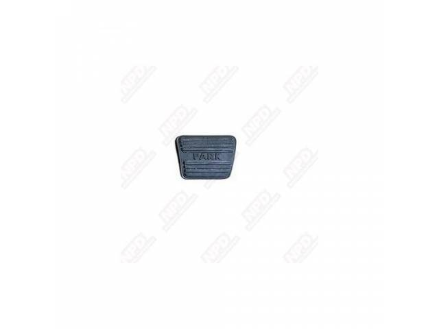 Pad Parking Brake Pedal Gm See C-4630-1f For