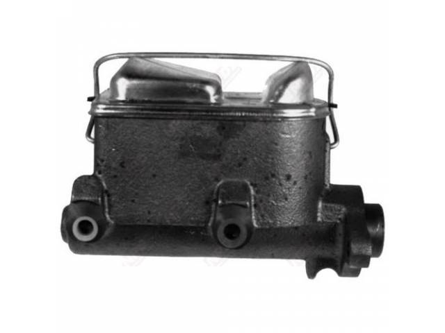 Master Cylinder Dual Bowl 1 1/8 Inch Bore