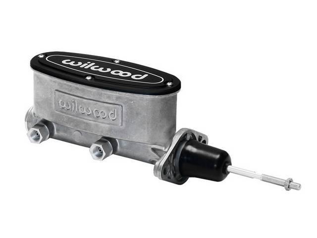 MASTER CYLINDER, Aluminum, Dual Bowl, 15/16 inch bore,
