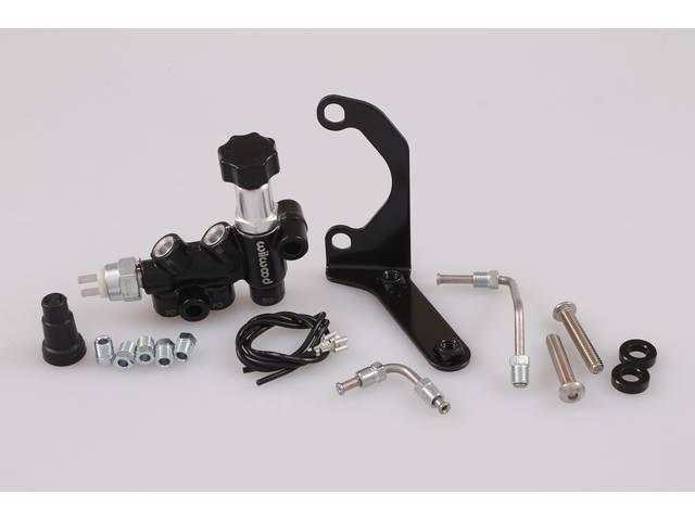 VALVE AND BRACKET ASSY, Brake Distribution and Proportioning,