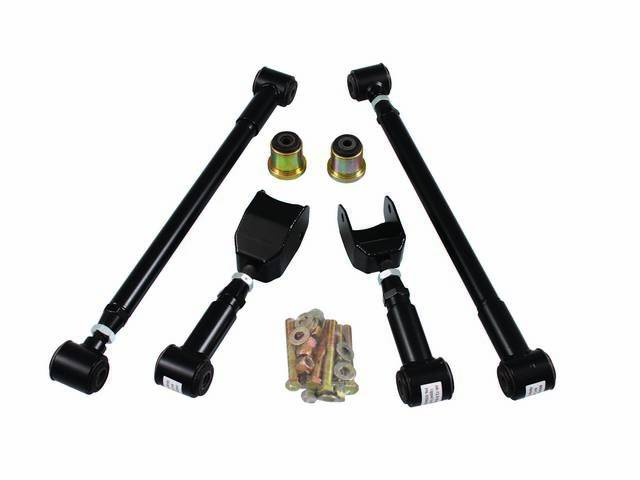 ARM SET, Rear Axle Control, Upper and Lower,