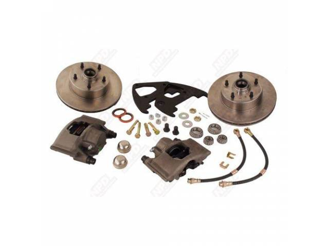 Drum To Disc Conversion Kit Front Mb Uses