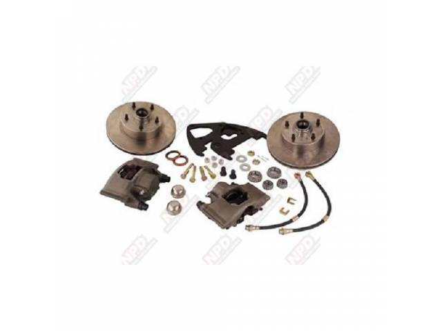 Drum To Disc Conversion Kit Front Pb Uses
