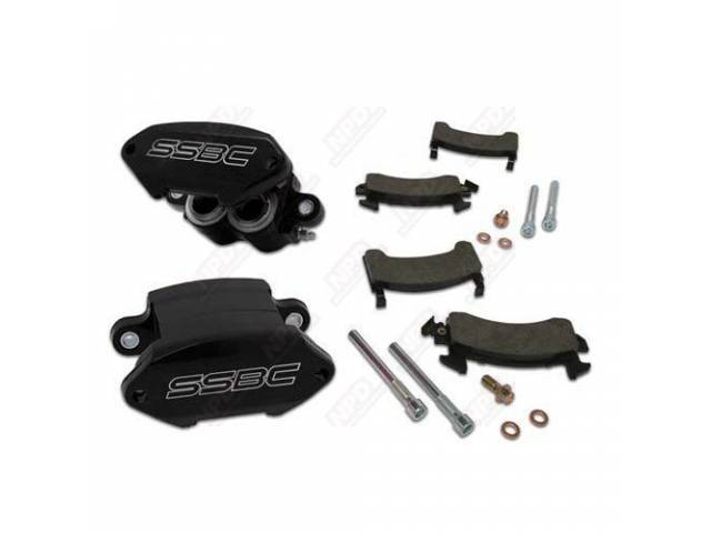 Caliper Kit Quick Change Front Black Powder Coated