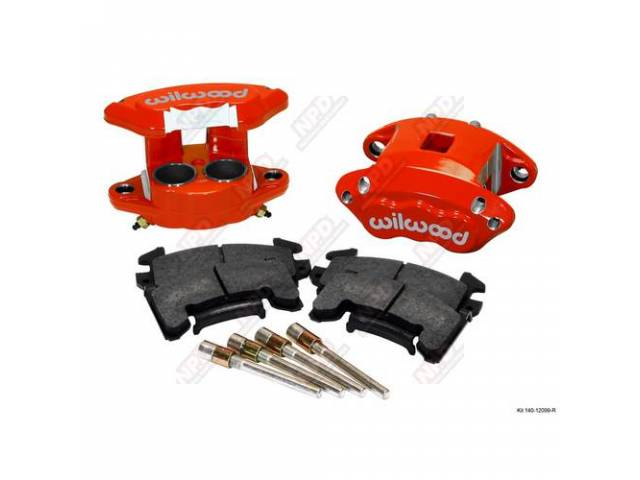Caliper Kit Front Disc Upgrade D154 By Wilwood