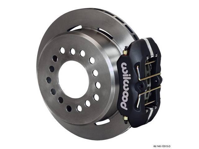 DISC CONVERSION KIT, Rear, Low Profile Dynapro Series