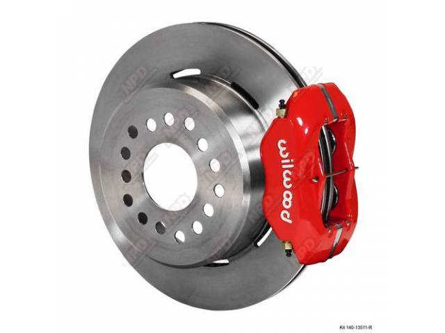 Disc Conversion Kit Rear Forged Dynalite Series By