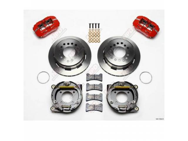 Disc Conversion Kit Rear Low Profile Dynapro Series