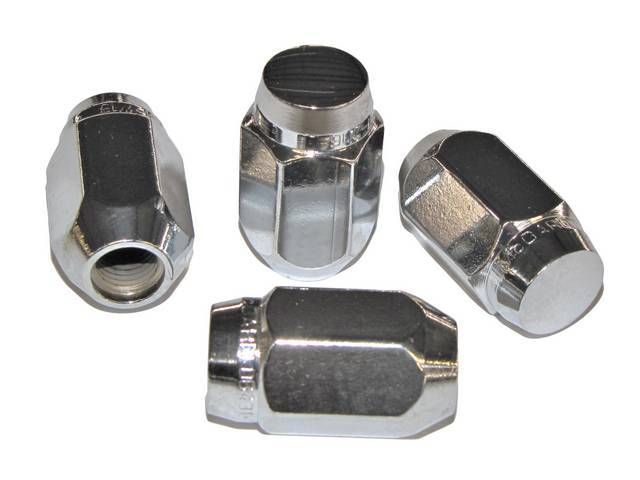 Lug Nut Set, Wheel, Torq Thrust, Hex Capped