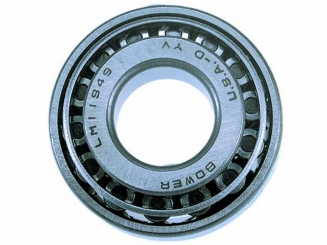 Bearing And Race, Front Wheel, Outer, National Bearings (Federal Mogul)
