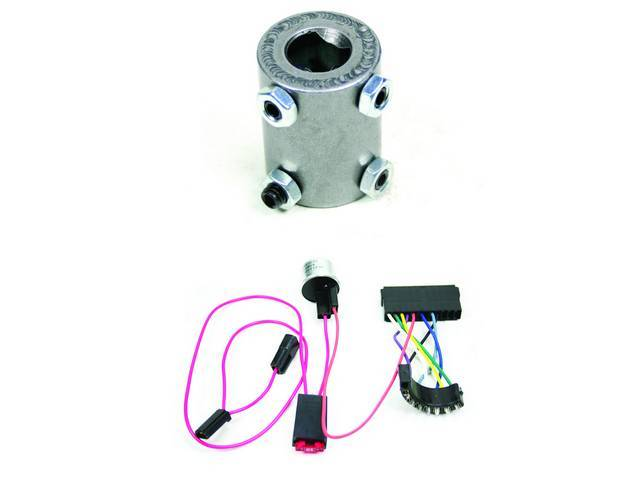 Installation Kit Econo, Steering Column, IDIDIT, Incl 4-way flasher kit and coupler (3/4 inch DD x 3/4-36 inch spline)