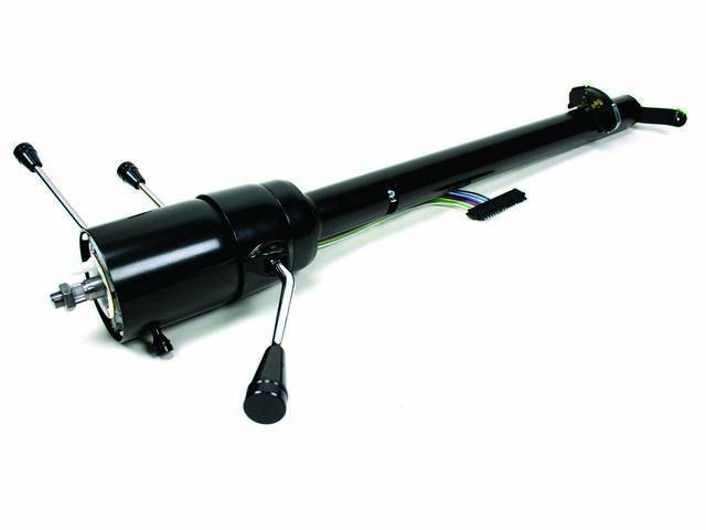 IDIDIT Tilt Steering Column, Black Powdercoat Steel, US-Made