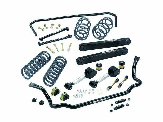 TOTAL VEHICLE SYSTEM, Suspension, Hotchkis