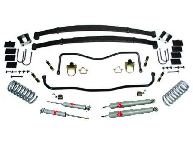 HANDLING KIT, High Performance Suspension, Street Bandit, **