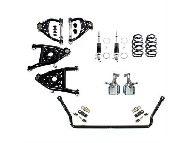 Speed Kit Front Suspension Level 2 Detroit Speed