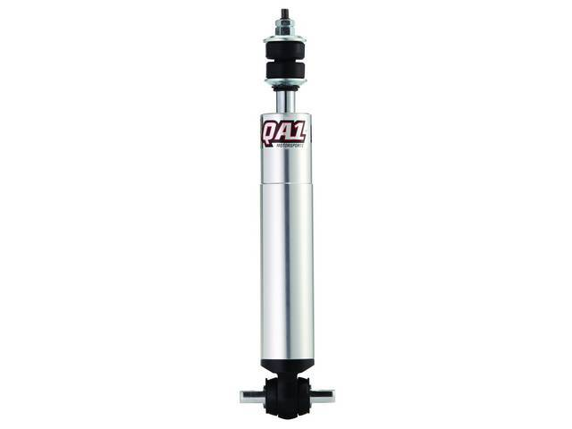 SHOCK, QA1, Front, non-adjustable, lightweight Aluminum body, US Made, compressed 9.38 inch, extended 14.38 inch, each