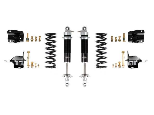 COIL-OVER CONVERSION KIT, Rear Suspension, Detroit Speed, ease