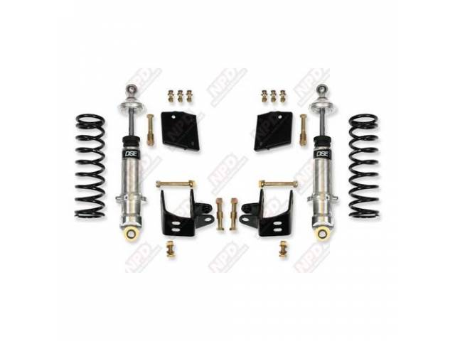 Coil-Over Conversion Kit Rear Suspension Detroit Speed Ease