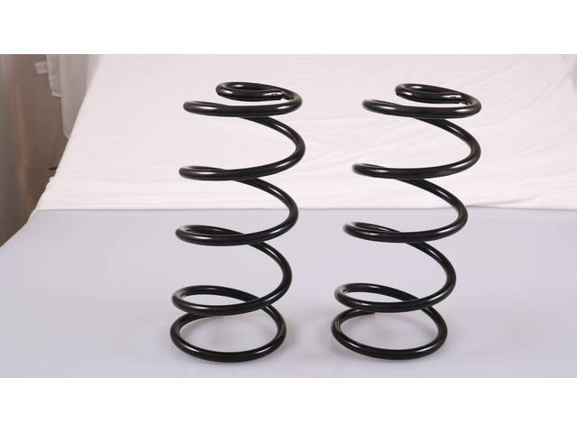 COIL SPRING SET, Rear, designed from original GM