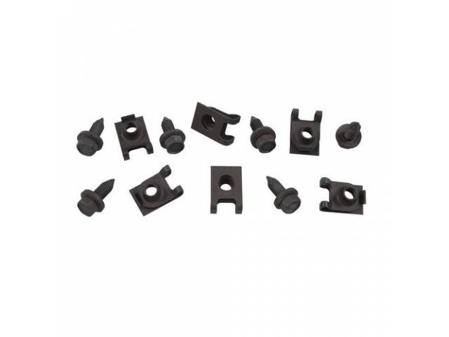 FASTENER KIT, Leaf Spring Mount Bracket, (12) Incl