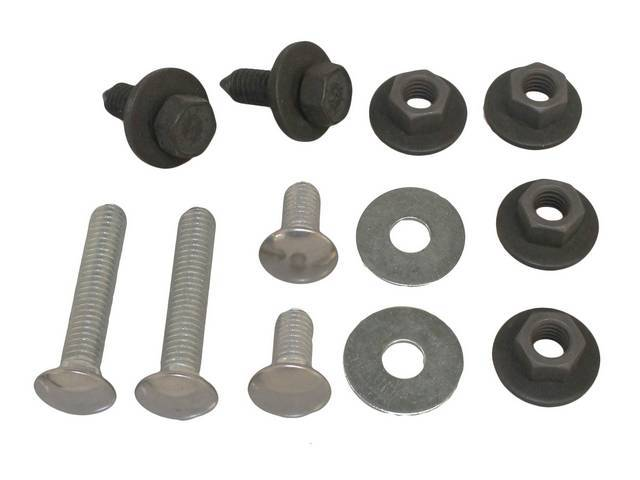 Fastener Kit Bumper Front 12 Incl Ss Capped