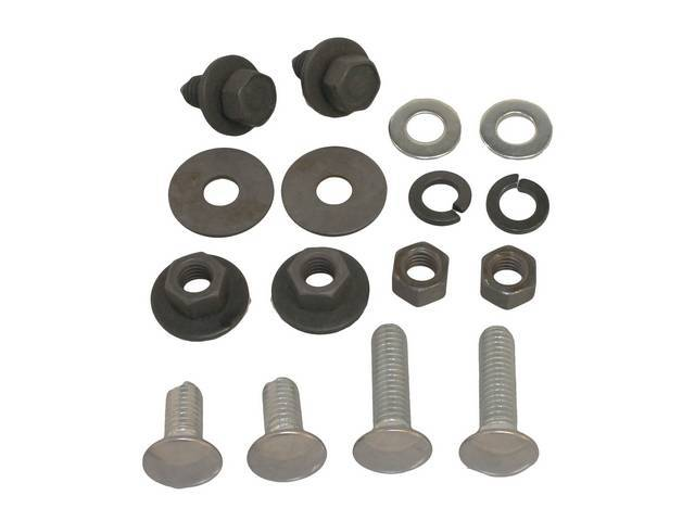 Fastener Kit Bumper Front 16 Incl Stainless Bolts