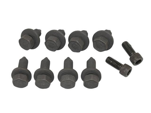 Fastener Kit Bumper Front 10 Incl Bolts And