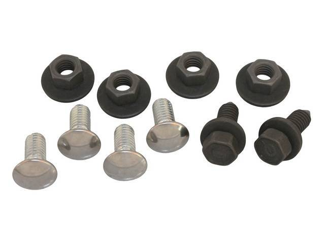 Fastener Kit Bumper Front 10 Incl Ss Capped