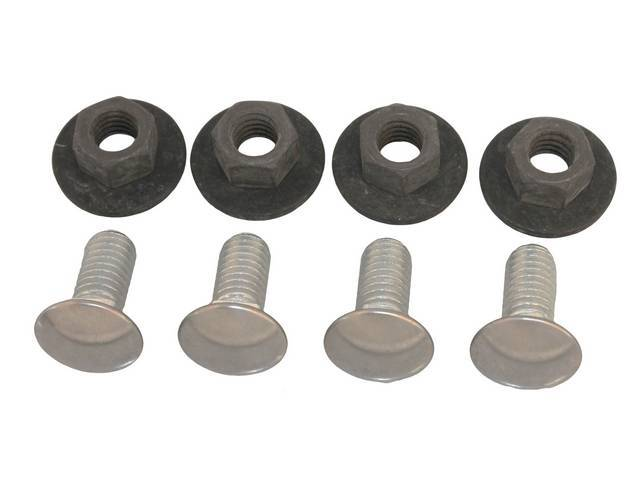 Fastener Kit Bumper Front 8 Incl Ss Capped