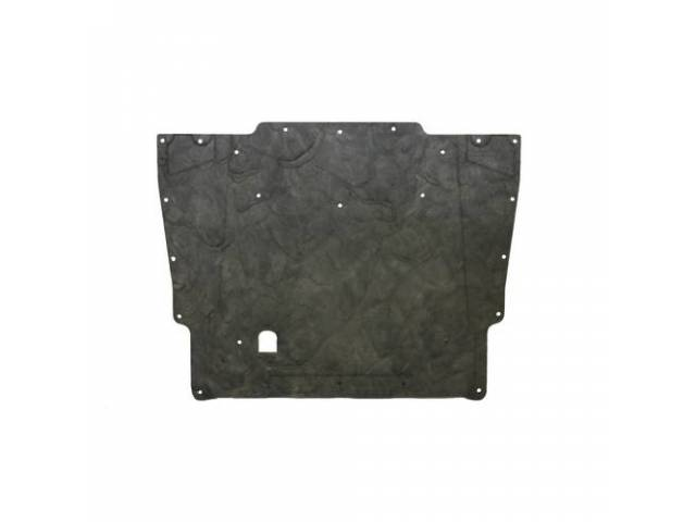 INSULATION PAD, Hood, Molded and detailed like originals,