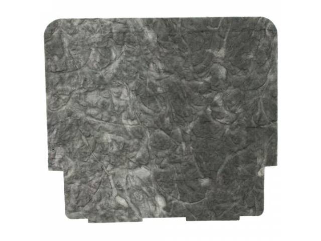 INSULATION PAD, Hood, does not Incl fasteners, replacement-style