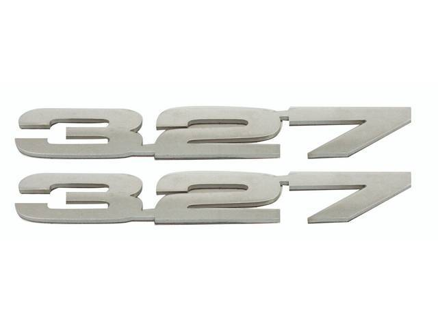EMBLEM SET, Cowl Induction / ZL2 Option Hood,
