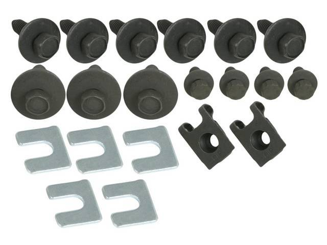 FASTENER KIT, Fenders, (26) Incl 12 Point and