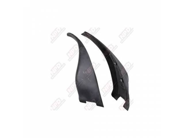 Spoiler Kit Wheel Opening Rear Fiberglass Incl Rh