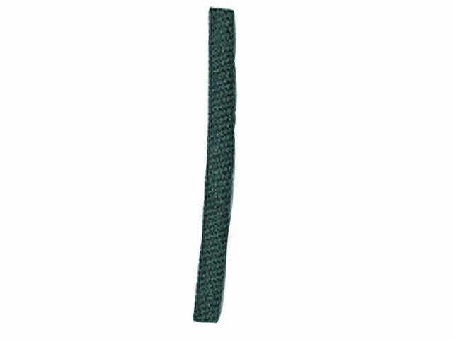 WIRE LOOM, Black Coated Fabric, 3/16 inch i.d., OE style, sold by the foot