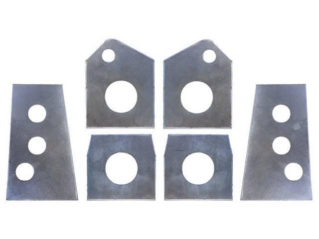 MOUNTING PLATE KIT, Subframe, Repro