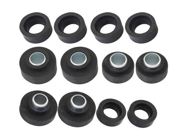 Subframe Rubber Bushing Kit, 12-pieces, OER reproduction