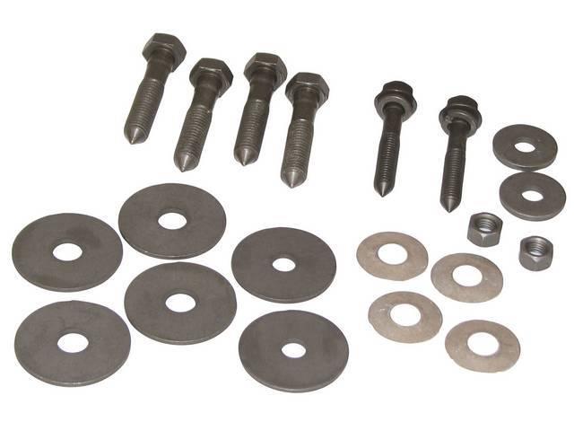 Fastener Kit, Subframe / Body Mount, (22) Incl